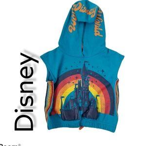 Walt Disney World - Retro Youth Sleeveless Hoodie